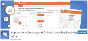 Appointment Booking and Online Scheduling Plugin